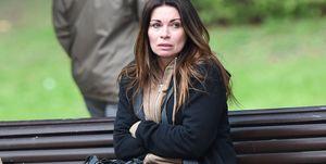 Coronation Street films Carla Connor's breakdown storyline