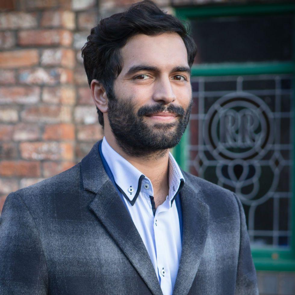 Coronation Street's Imran Habeeb to voice suspicions over Rick's disappearance