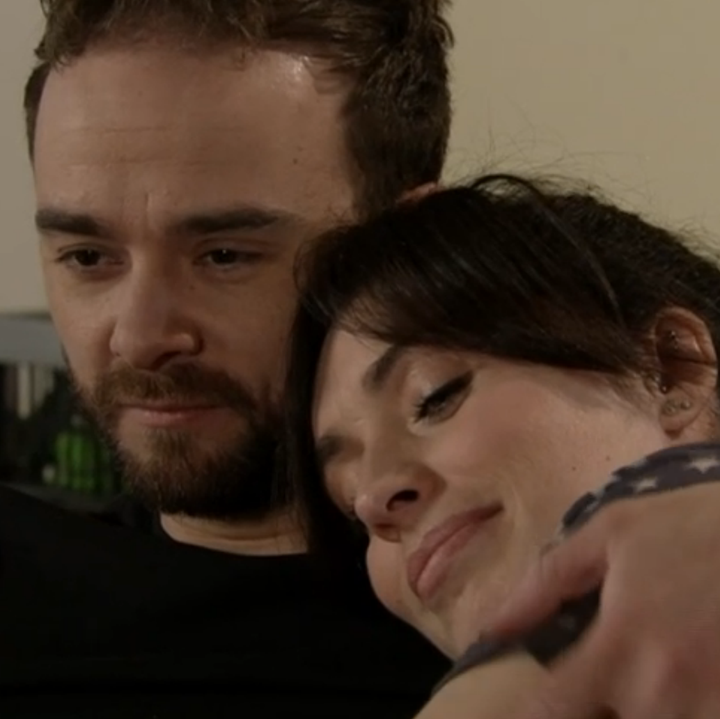 Coronation Street's David Platt lies to girlfriend Shona Ramsey after Natalie kiss