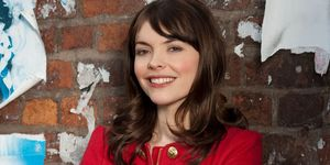 Kate Ford as Tracy Barlow in Coronation Street