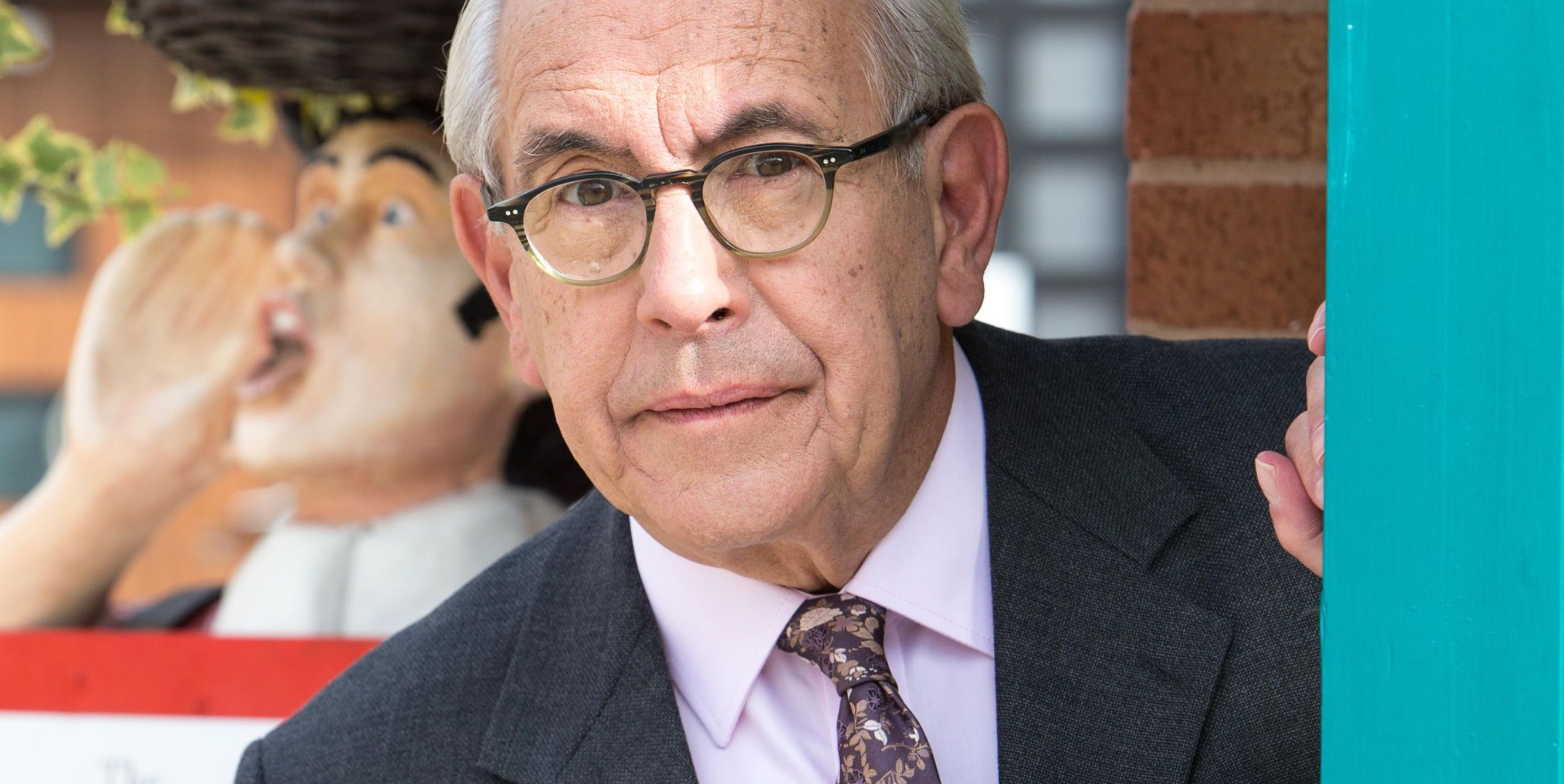 Malcolm Hebden as Norris Cole in Coronation Street