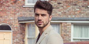 Samuel Robertson as Adam Barlow in Coronation Street