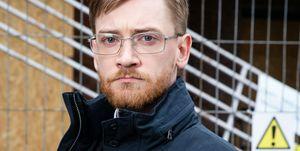 Adam Barlow as Wayne Hayes in Coronation Street