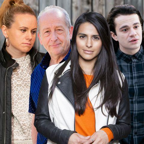Coronation Street - Gemma, Geoff, Alya and Seb