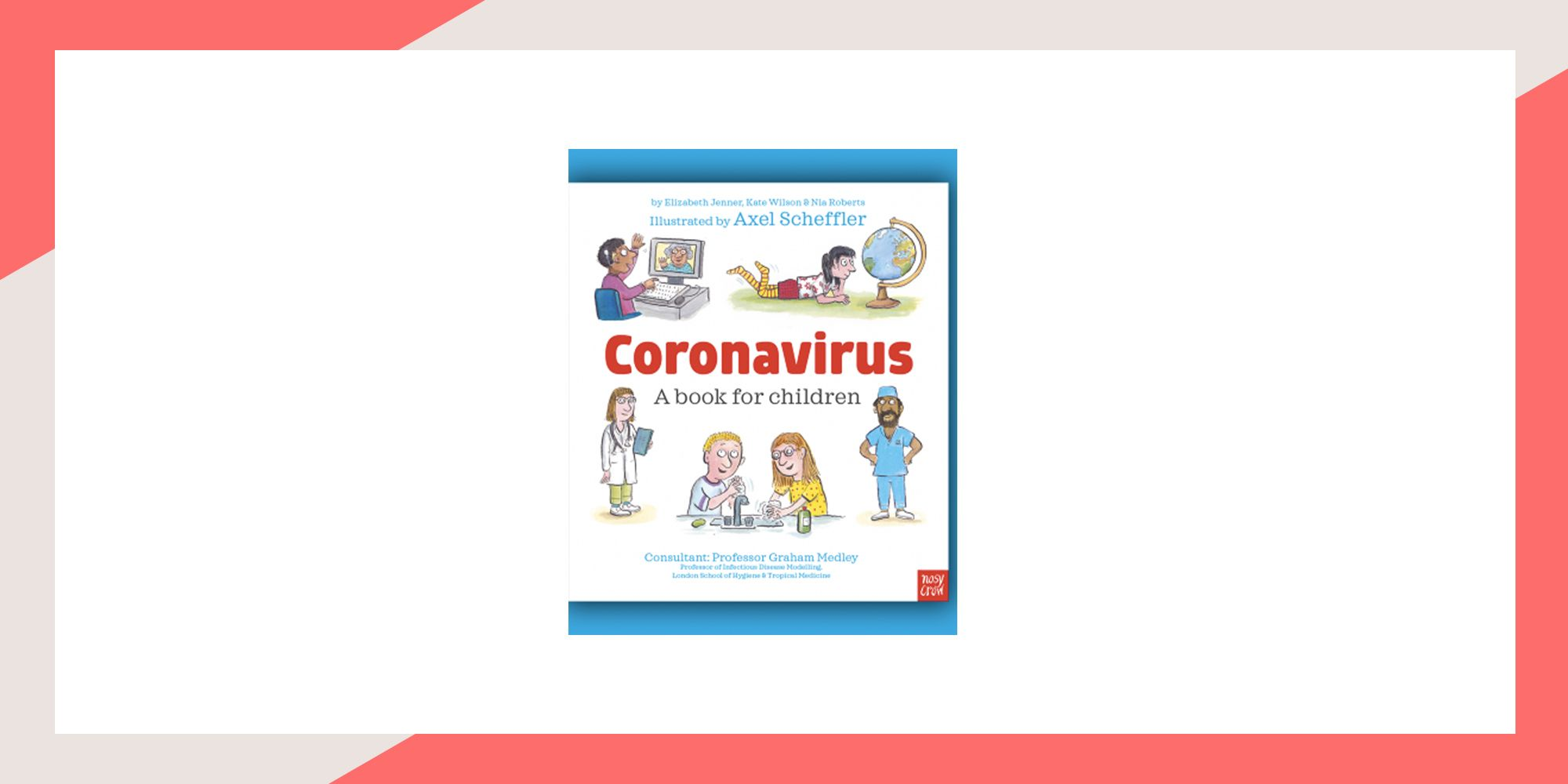 A free book to teach kids about coronavirus has been released