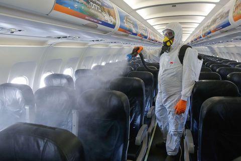 リスク 感染 飛行機 コロナ