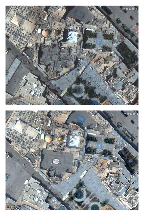 Photography, Soil, Rock, Earthquake, Urban design, Aerial photography, Metal,