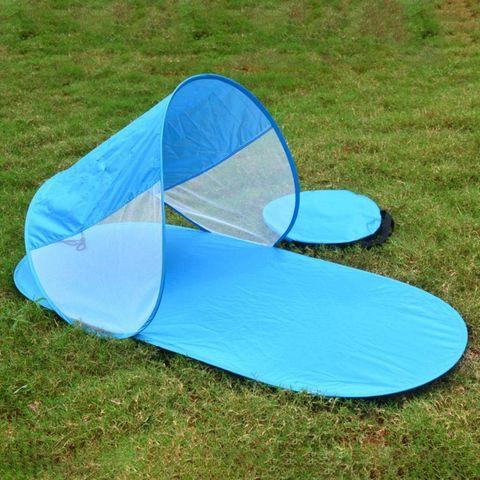 Parasol con cortavientos