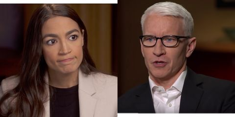 alexandria ocasio cortez says there s no question trump is a racist why is anderson cooper shocked alexandria ocasio cortez says there s