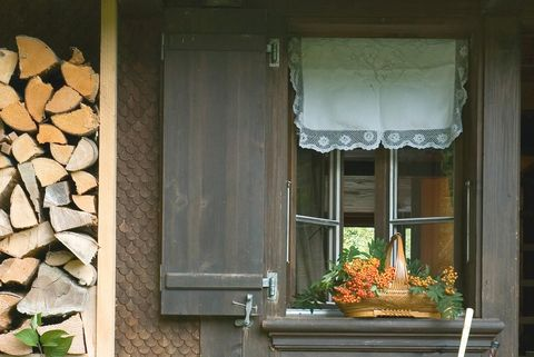 decorar con cortinas cortas, estilo rustico estilismo dafne vijande