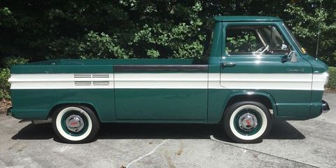 This 1962 Chevrolet Corvair Rampside Reminds Us Of When Pickups Were
