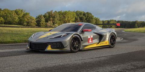 Corvette C8.R Gets a Flat-Crank 5.5-Liter V-8 With Dual ...