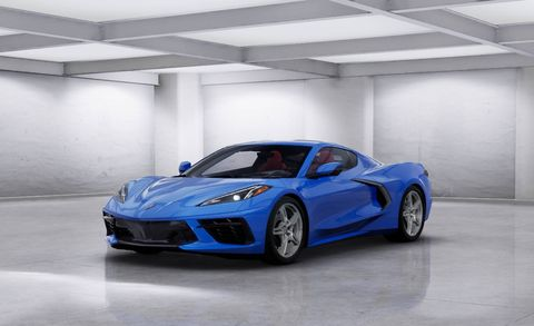 New Corvette Stingray >> See The 2020 Chevy Corvette In Every Color Available