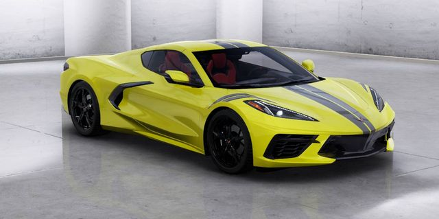 2020 Chevy Corvette C8 Colors Trims Options And Features