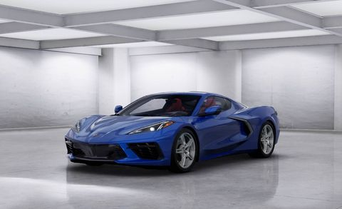 See the 2020 Chevy Corvette in Every Color Available