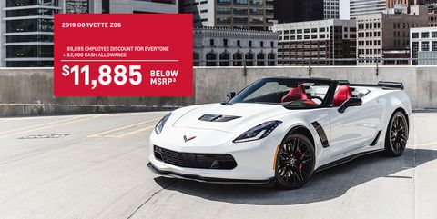 New C7 Chevy Corvettes Are Really Cheap Right Now