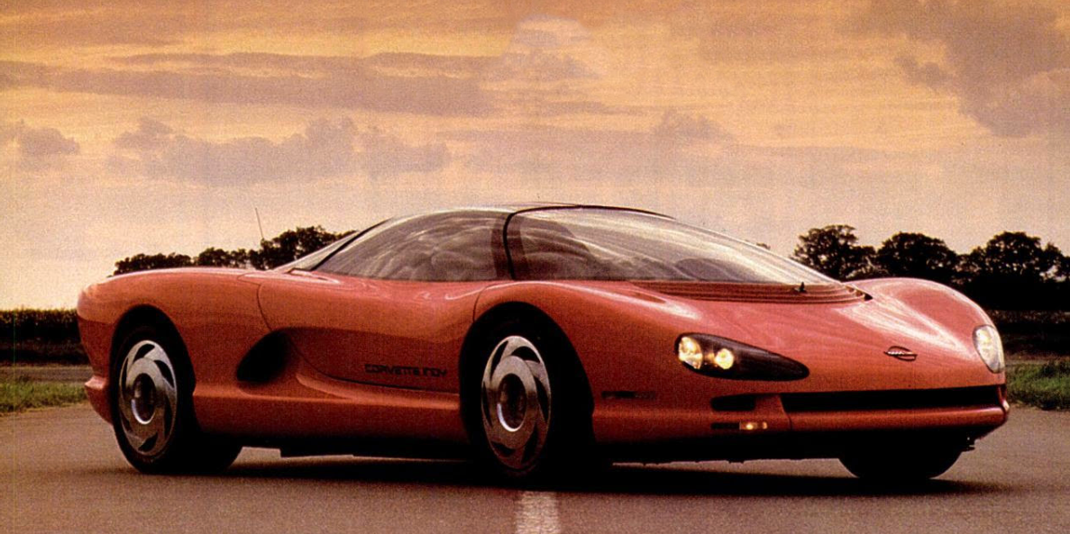 A Closer Look at Chevy's Mid-Engine Corvette...From 1988?