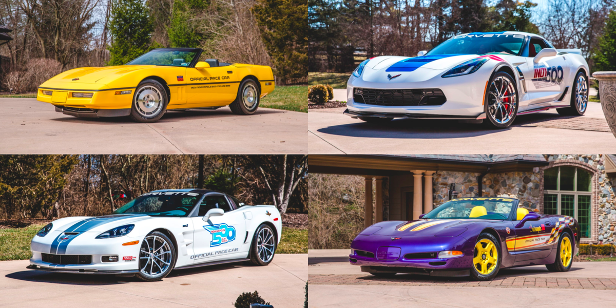This Guy Is Selling His Entire Corvette Indy 500 Pace Car Collection