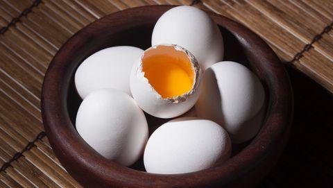 diarrea di uova crude
