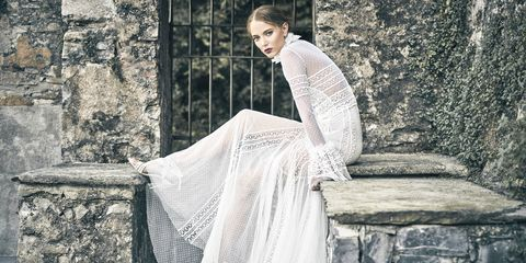 d1885602eec 70 Best Bohemian Wedding Dresses - Boho Wedding Dress Ideas for ...