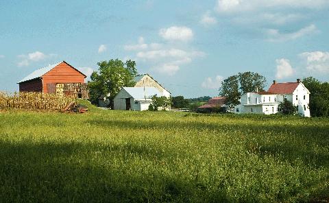 Home, Land lot, House, Property, Farm, Natural landscape, Grass, Rural area, Grassland, Prairie,