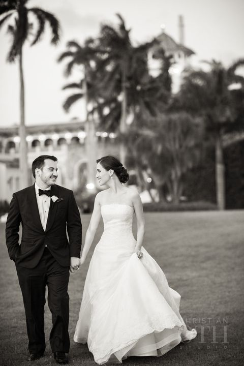 Cristina Ottaviano Mar-a-Lago Wedding