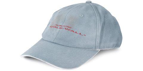 Cap, Clothing, White, Baseball cap, Cricket cap, Headgear, Hat, Fashion accessory, Material property, Font,