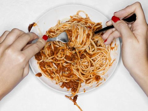Finger, Cuisine, Food, Noodle, Spaghetti, Pasta, Chinese noodles, Nail, Al dente, Ingredient,