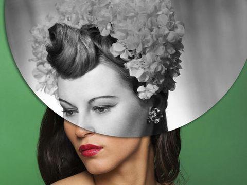 Hair, Headpiece, Hairstyle, Hair accessory, Beauty, Lip, Chin, Fashion accessory, Bridal accessory, Headgear,