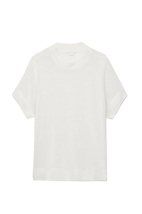 Cos camiseta lino seda