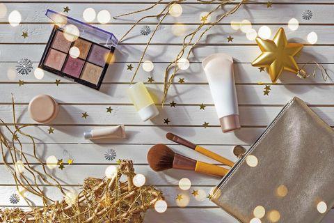 cosmética para navidad
