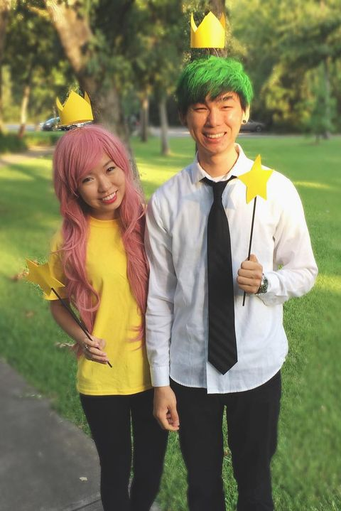 cosmo and wanda costumes crowns