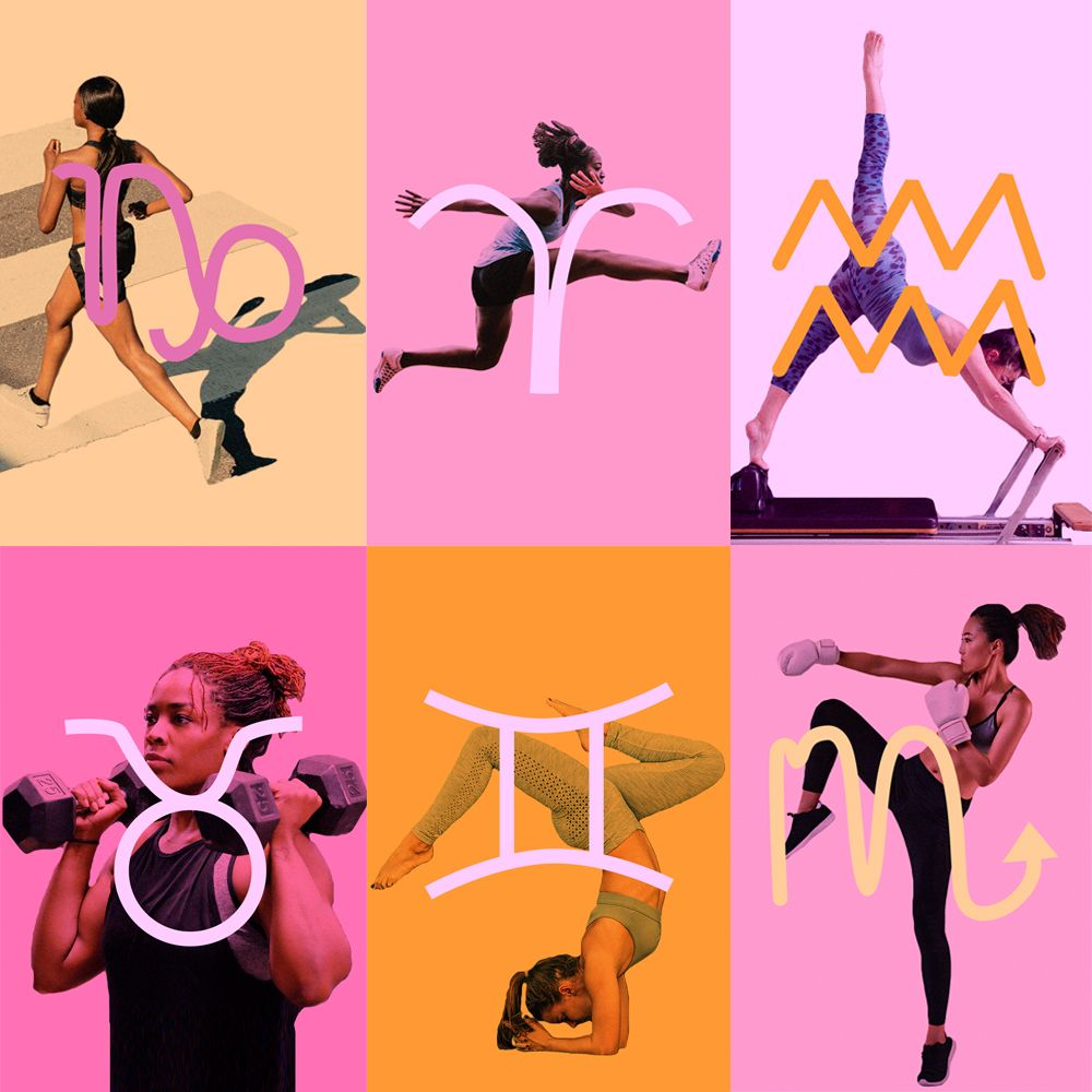 What workout you should do, based on your star sign