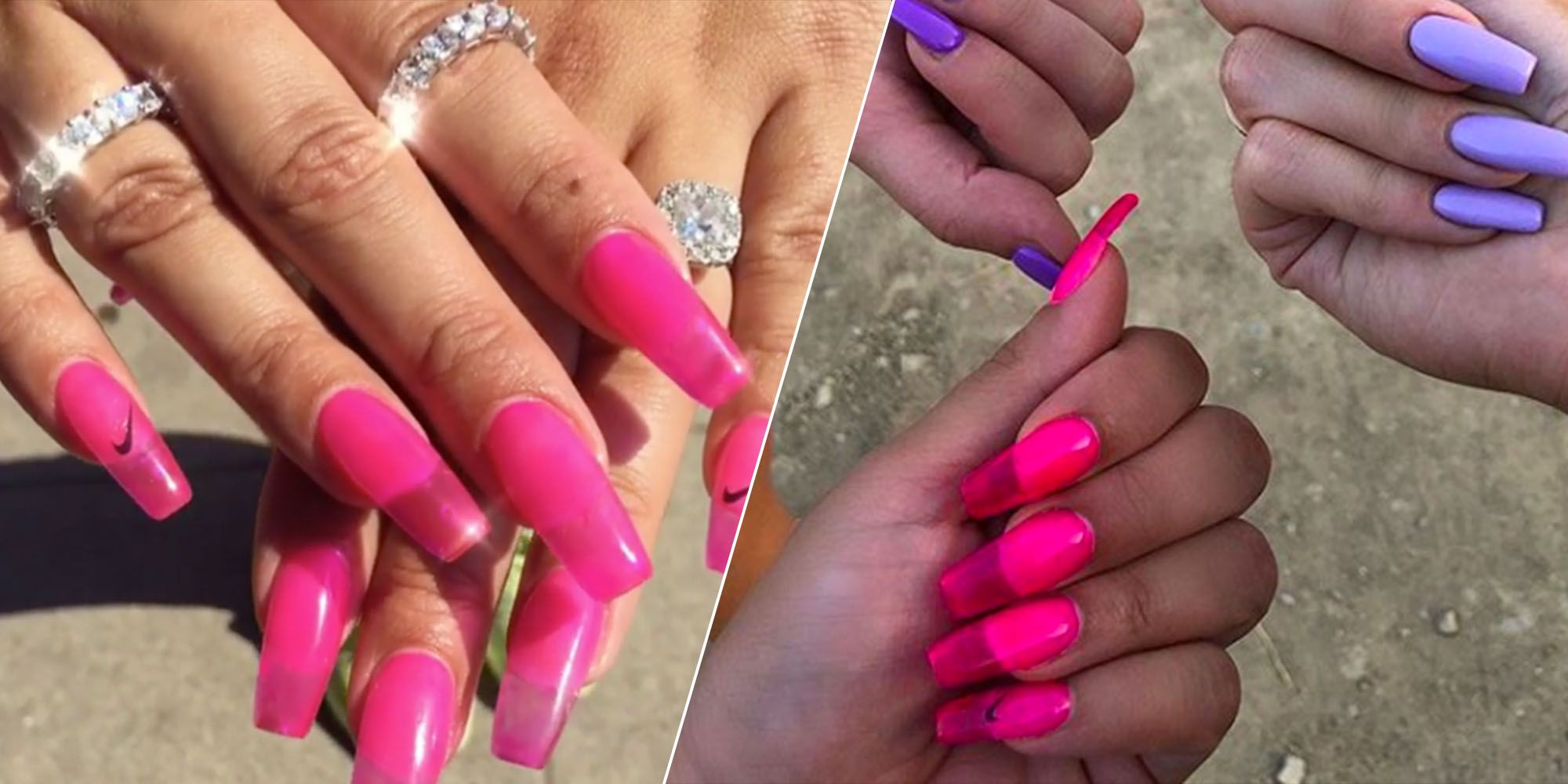 Jelly Nails are the Newest Summer Manicure Trend \u2013 \u002790s