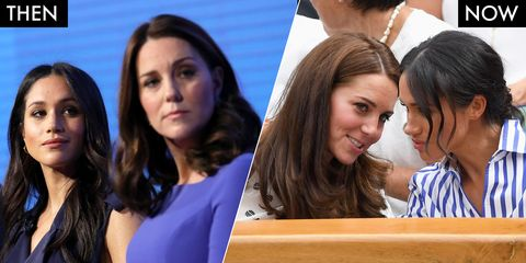 Meghan Markle and Kate Middleton's Body Language Is Increasingly