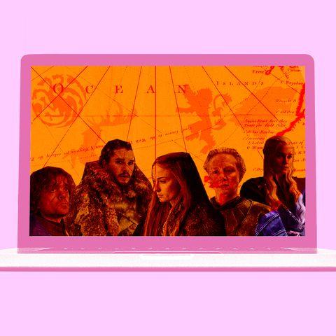 Orange, Magenta, Art, Square, Rectangle,