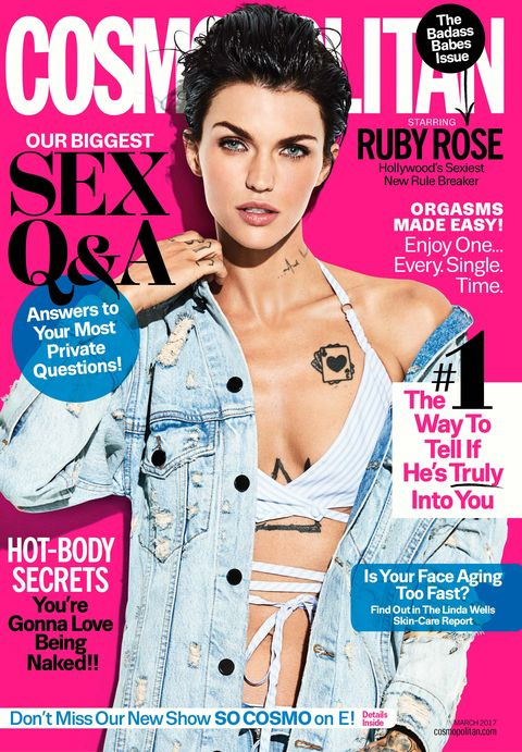 Image result for cosmo mag ruby rose""