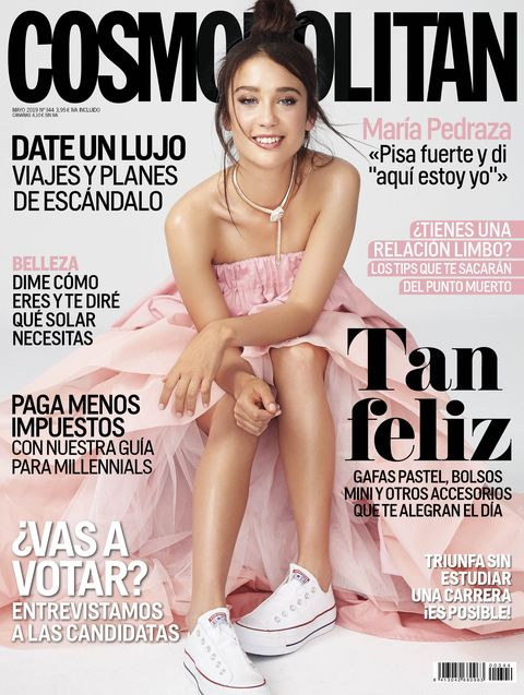 María Pedraza Cosmopolitan