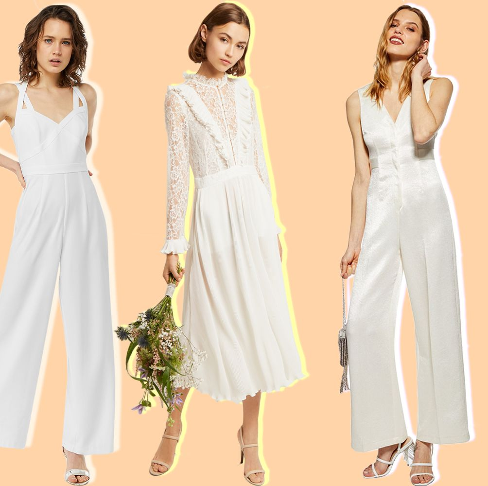 All the best bridal jumpsuits under £250