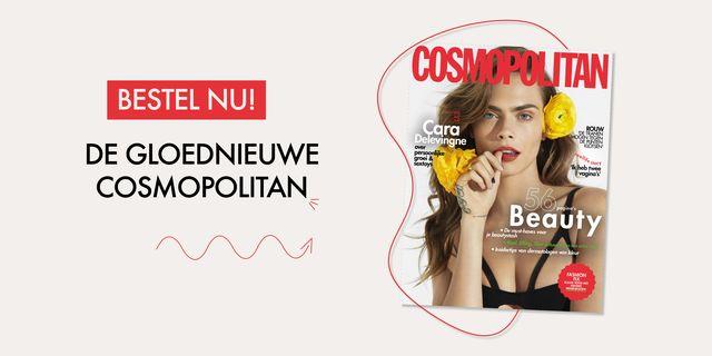 beautynummer cosmopolitan cara delevingne