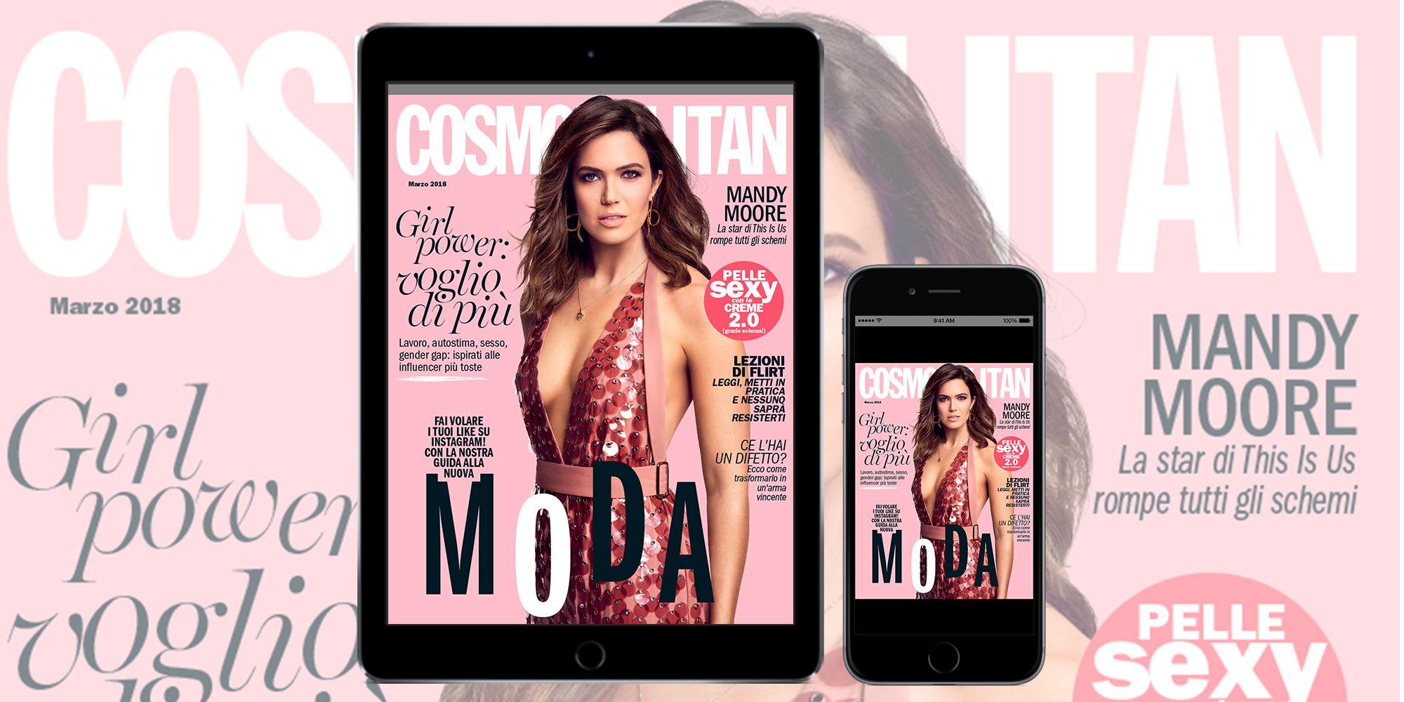 Cosmo di marzo è su iPad e iPhone recommend