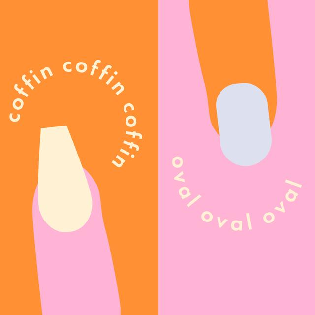 cosmopolitan nail shapes