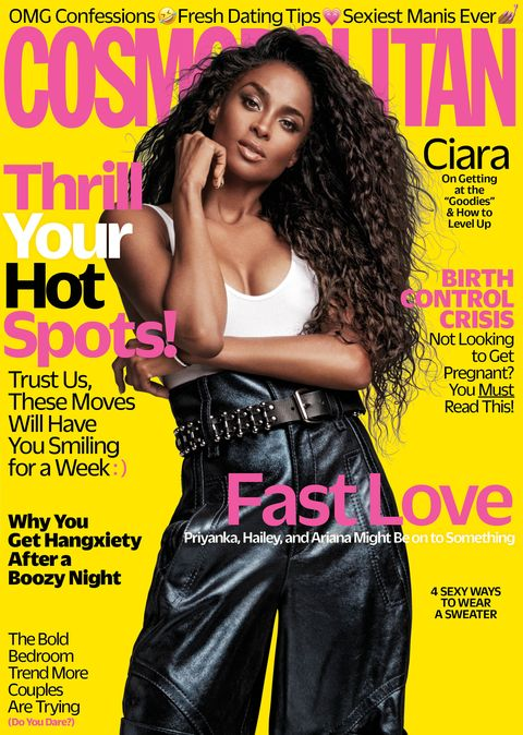 Image result for CIARA COSMOPOLITAN MAGAZINE