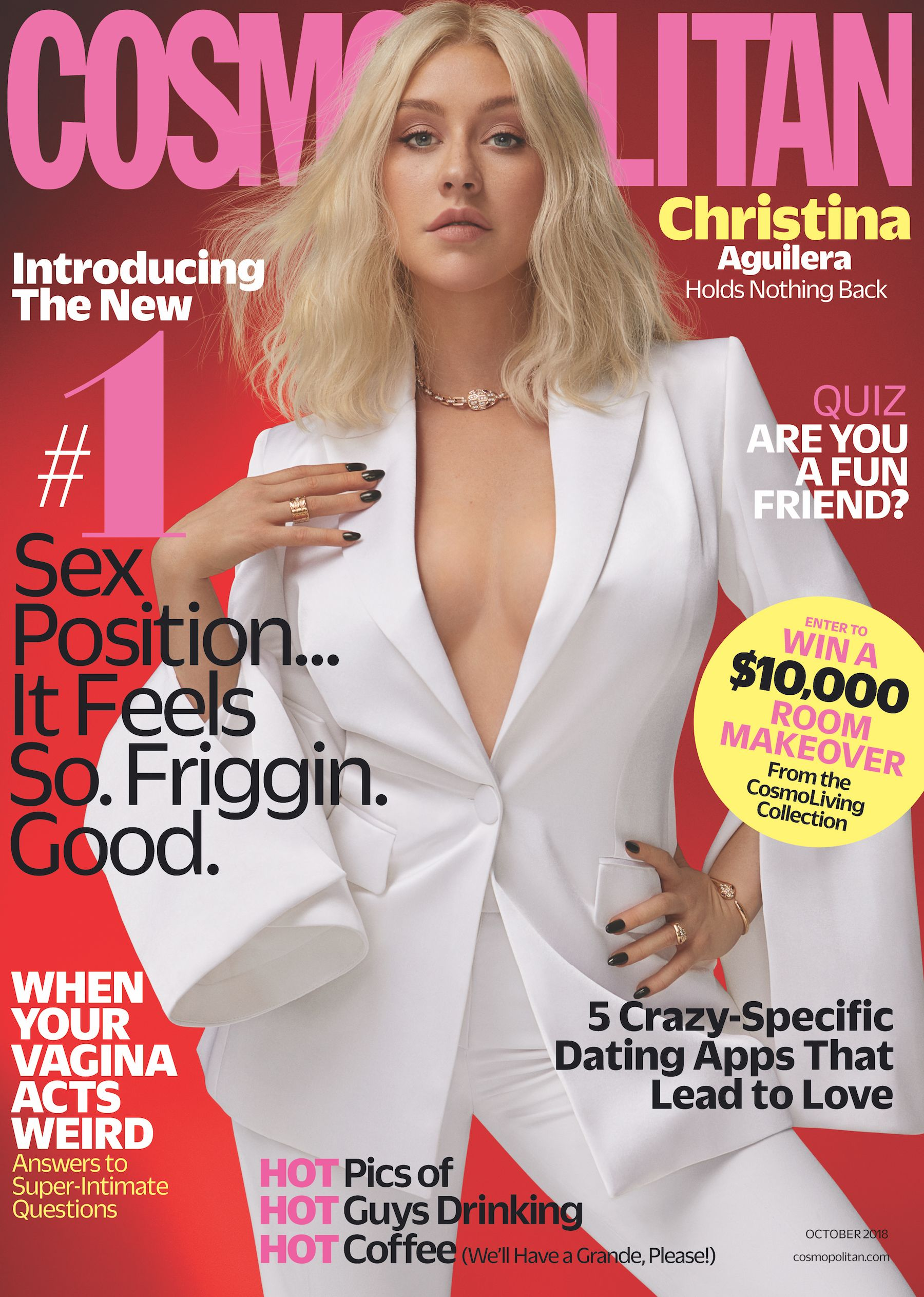 Christina Aguilera Covers Our October Issue and Gets Real About Her Rivalry with Britney and Why She Wont Date a Celeb