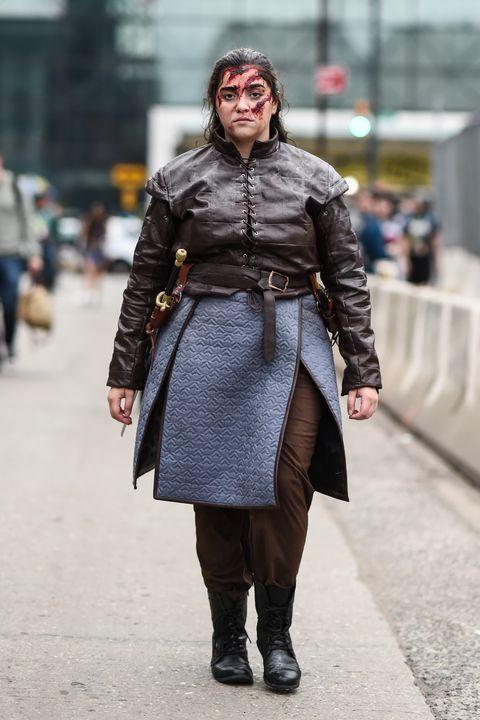 arya stark game of thrones costume