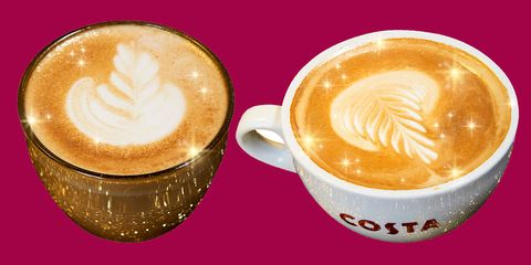 Costa Is Celebrating Christmas With Glittery Coffee