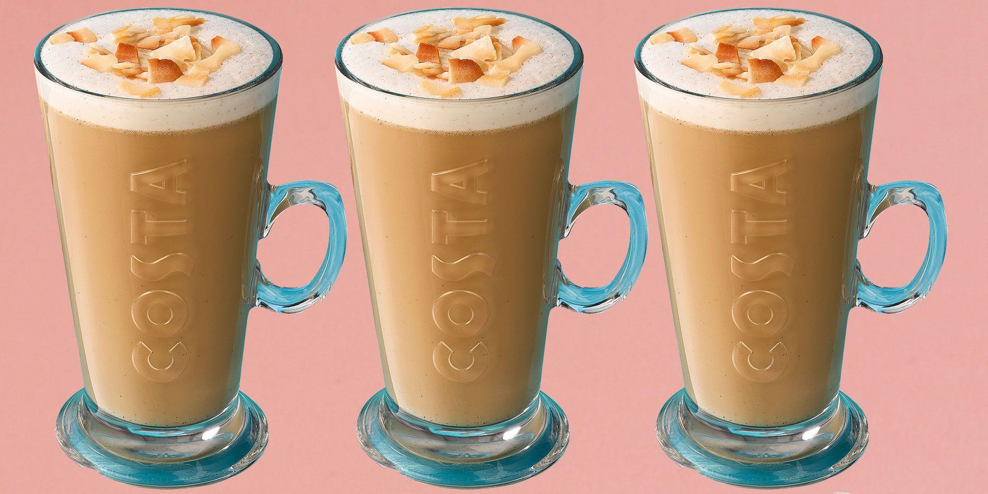 Costa coconut milk lattes
