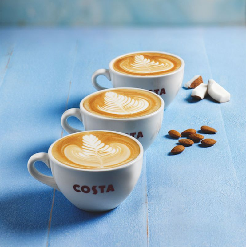 Costa's new summer menu is here and the Salted Caramel Iced Latte sounds incredible