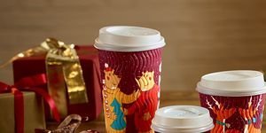 Costa Christmas coffee cups