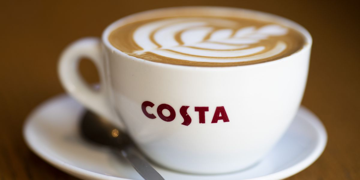 14 Costa Coffee drinks at under 100 calories